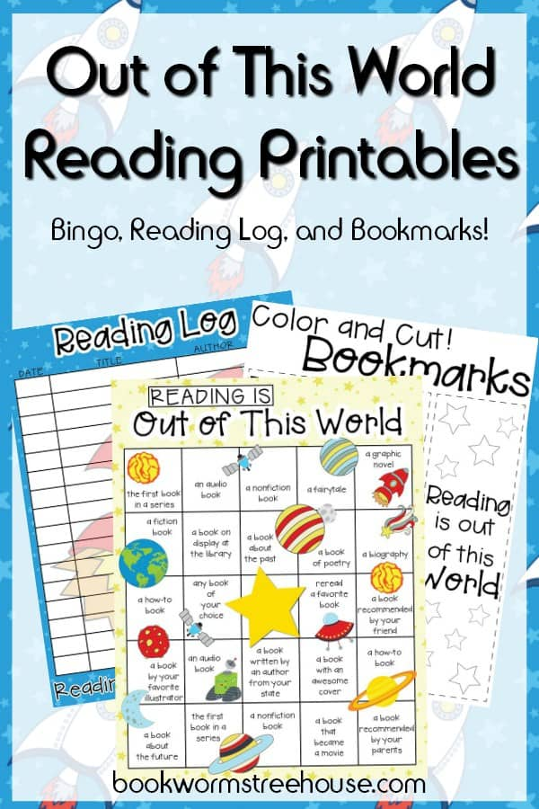 Reading Bingo and Bookmarks