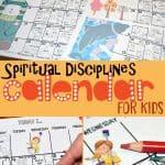 Spiritual Disciplines Calendar