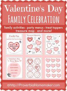 Family Celebration Pack for Valentine's Day!