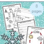 Winter Science Activity Printables