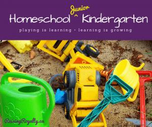 Junior Kindergarten Printable Checklist