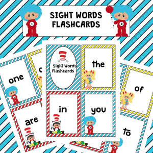 Sight Words with Dr. Seuss!