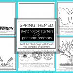 Spring Sketchbook Prompts