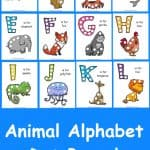 Animal Alphabet Dot Activity Pages