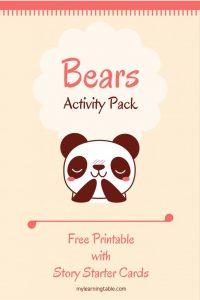 Bears Activity Pack