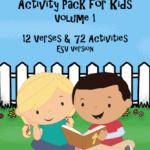 Bible Verse Activity Pack