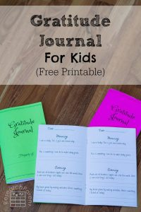 Children's Gratitude Journal