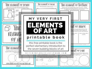 Elements of Art Booklet