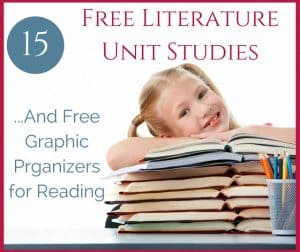 Free Literature Studies and Graphic Organizers