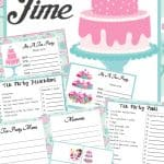 Tea Party Printable Set