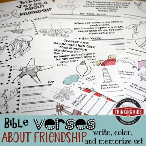 Featured Freebie: Bible Verses about Friendship
