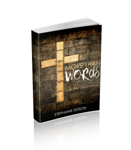 Featured Freebie: More than Words for Teens