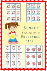 Multiplication Printable Pack