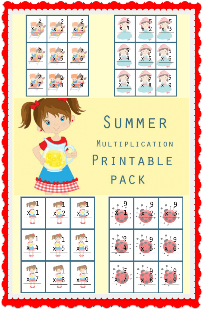Multiplication Printable Pack