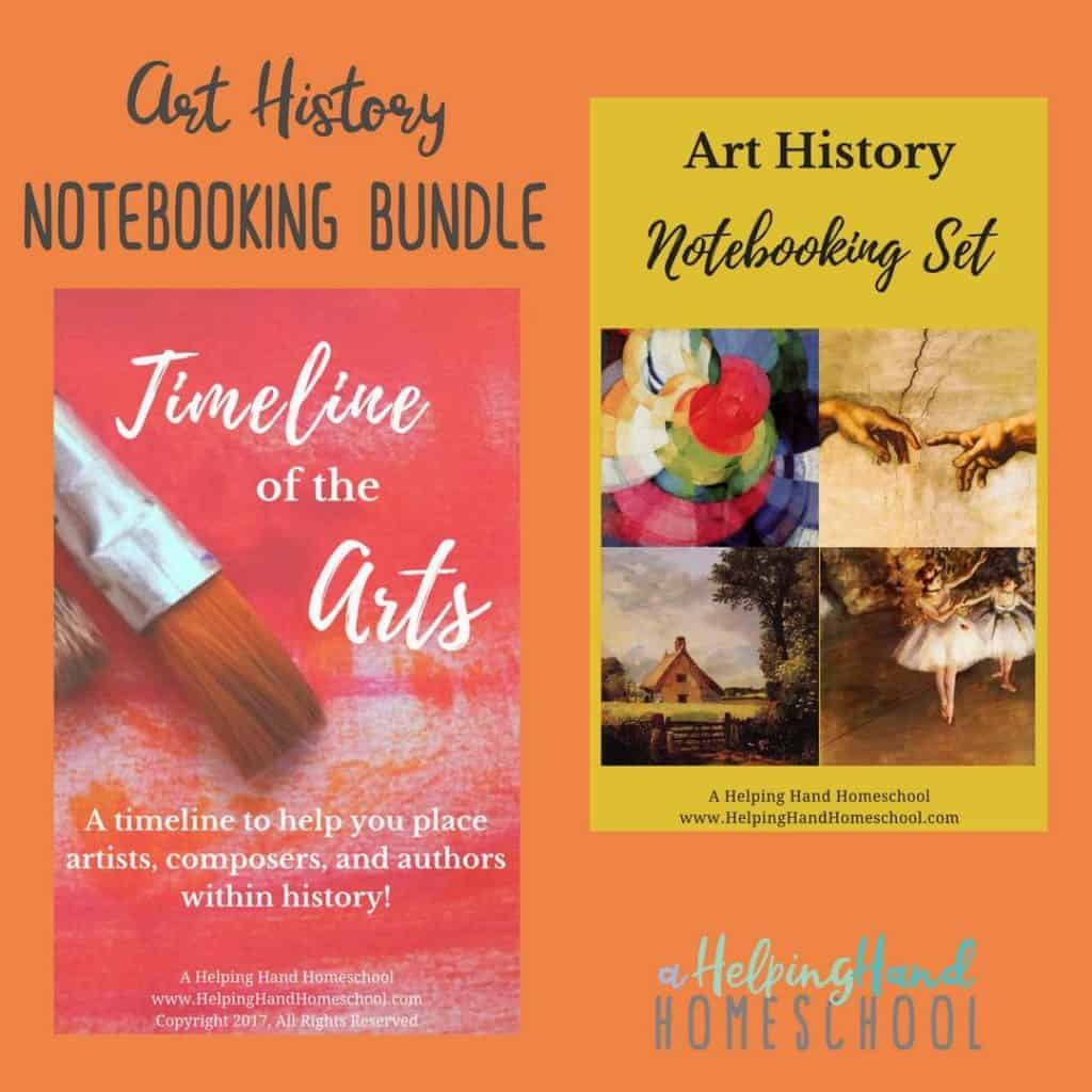 Art History Notebooking Bundle