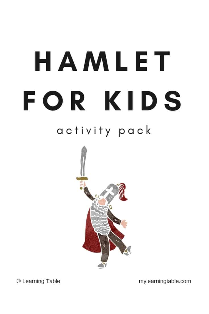 Hamlet for kids activity pack homeschool printables for free copy of hamlet for kidsg ccuart Gallery