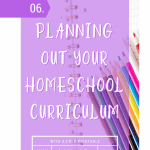 Homeschool Planning Printable