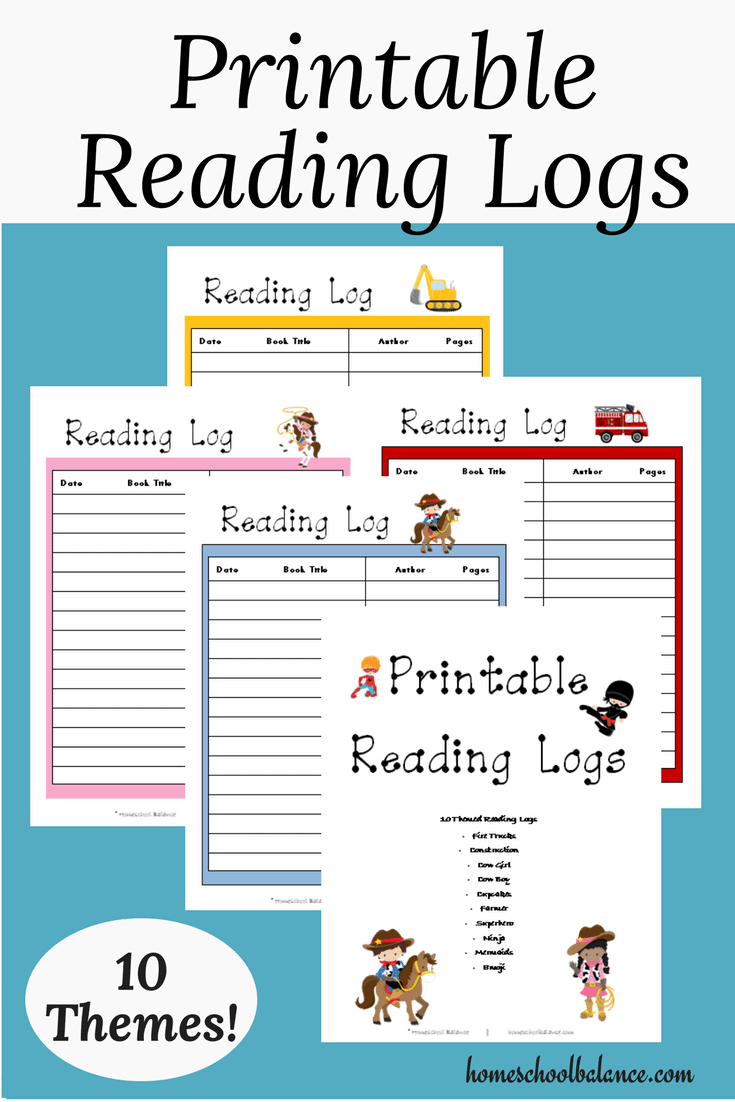 photo relating to Free Printable Reading Logs called Printable Reading through Logs - Homeschool Printables for No cost