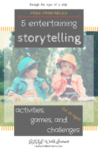 Storytelling Activities Printables