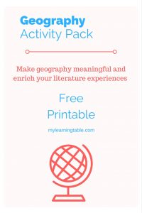 Geography Printable Pack