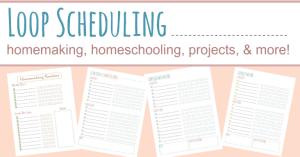 Loop Scheduling Printables