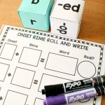 Roll A Word Phonics Activity
