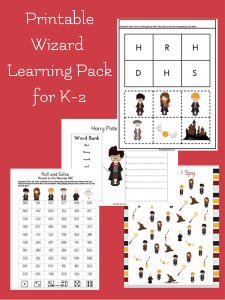 Printable Wizard Learning Pack