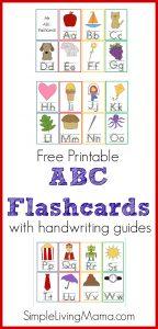 Printable ABC Flashcards