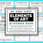 Elements of Art Printable Book