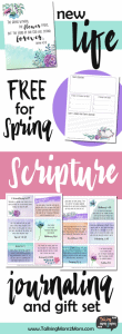 Scripture Journaling Printable Pack