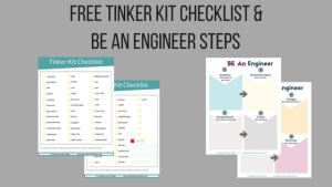 Make Your Own Tinker Kit Checklist