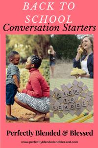 Back to School Conversation Starters