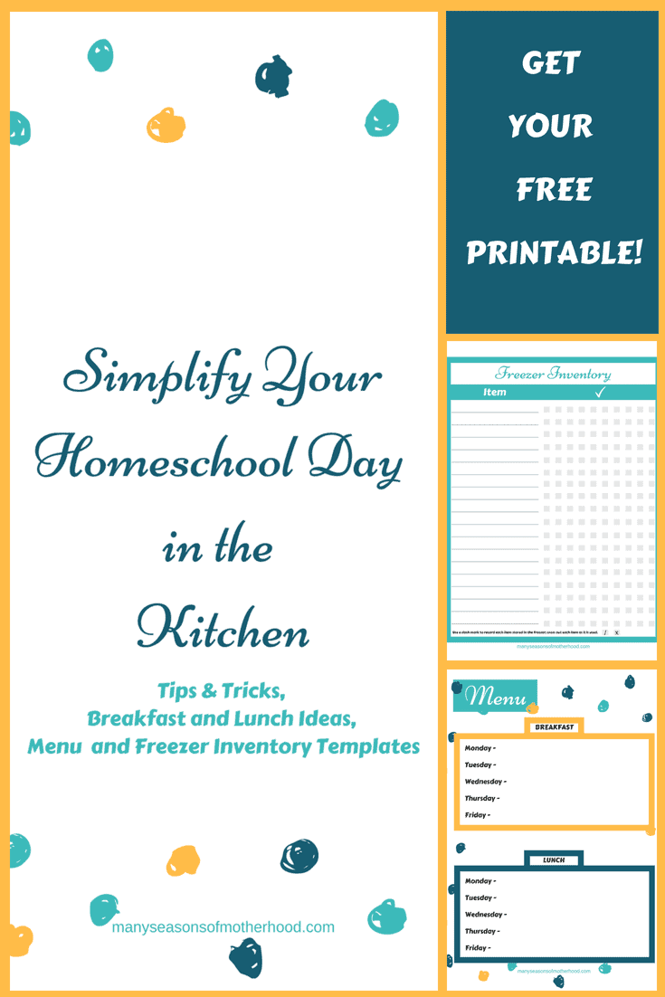 picture regarding Free Kitchen Printable called Totally free Kitchen area Printable - Homeschool Printables for Absolutely free