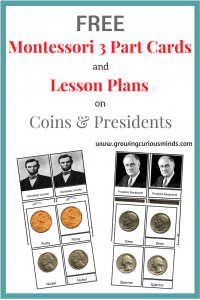 Coins & Presidents Printables