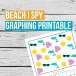 Beach Graphing Printable