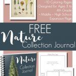 Charlotte Mason Printable Nature Journal
