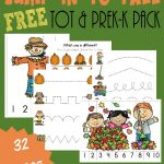 Preschool & Toddler Fall Printable Pack