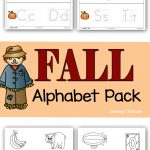 Fall Alphabet Pack Printable