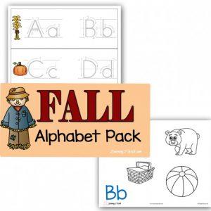 Fall Alphabet Printable