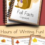 Printable Copywork just for Fall!