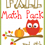 Fall Math Pack – Upper Elementary