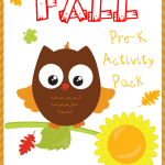 Preschool Fall Activity Pack