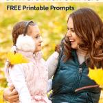 Printable October Conversation Starters