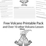 Volcano Printable Pack