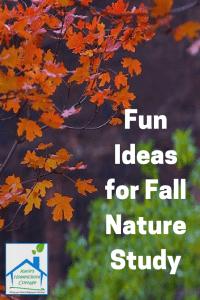 Fall Nature Printables