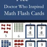 Doctor Who Math Flash Cards