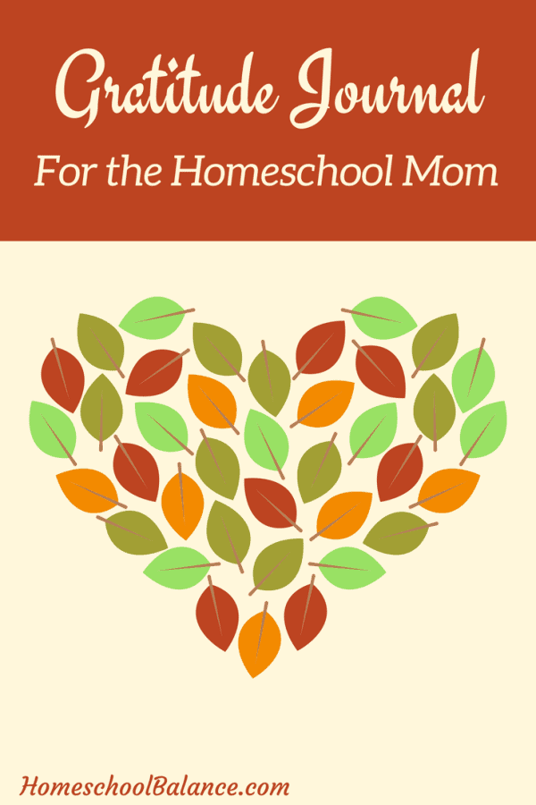 Are you looking for a gratitude journal designed just for the homeschool mom?  Check this one out now! #homeschool #gratitude #journal #homeschoolprintablesforfree
