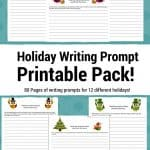 Holiday Writing Prompt Printables