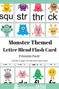 Monster Theme Blend Cards