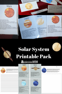 Printable Solar System Pack